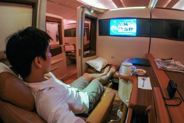Cada suite tiene su propia televisión de alta definición.