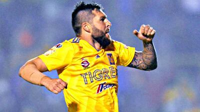 Los Tigres de Gignac se adueñaron del top 5 de goles de la Jornada 16