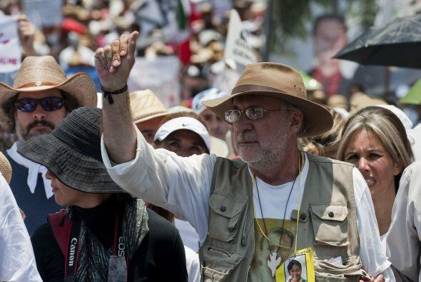 Sicilia hizo un llamado a la indignada sociedad morelense, y a los mexic...