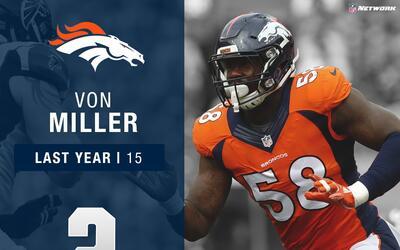#2: Von Miller (LB, Broncos) | Top 100 Jugadas 2017