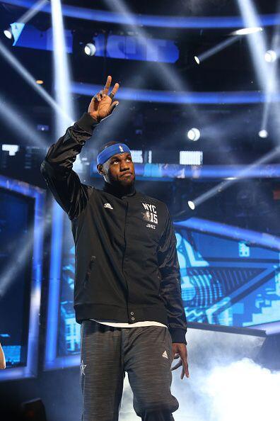 Te traemos las mejores imágenes del Juego de las Estrellas de la NBA núm...