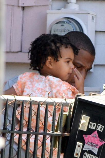 Y la pequeña Blue Ivy Carter es hija de Beyoncé y Jay-Z. N...