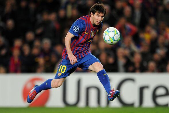 Lo de Messi es de otro mundo.