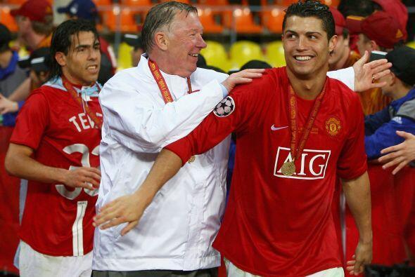 Un trofeo más ganado por el United dirigido por Sir Alex Ferguson.