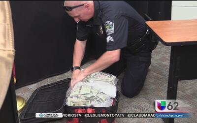 Policía de Austin decomisa más de 700,000 dólares al norte de la ciudad