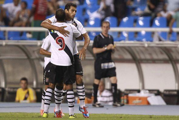 Pero al 50 Diego Souza igualó las acciones.