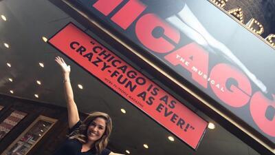 Recordamos cuando Karla Martínez debutó en el musical 'Chicago' (fotos)