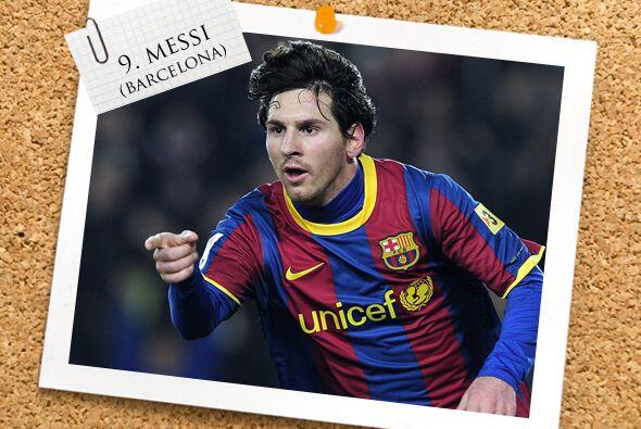 La delantera tiene al crack del momento, el argentino Lionel Messi.