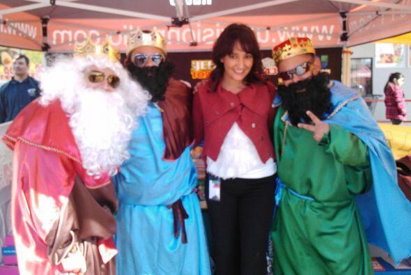Y 'La Vanidosa' no dudo en convencer a Los Reyes para que se acordaran d...