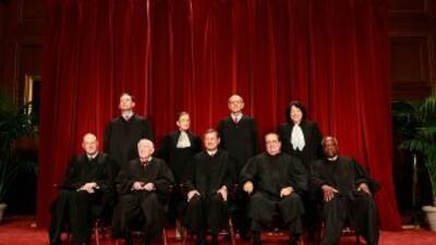 El Tribunal Supremo de EEUU.