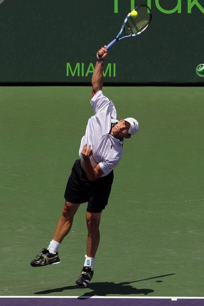 Inclusive, el servicio de Roddick fue tan dominante que Berdych no tuvo...