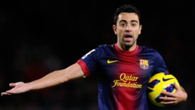 Xavi y los barcelonistas intentan pensar en los partidos que vienen a co...