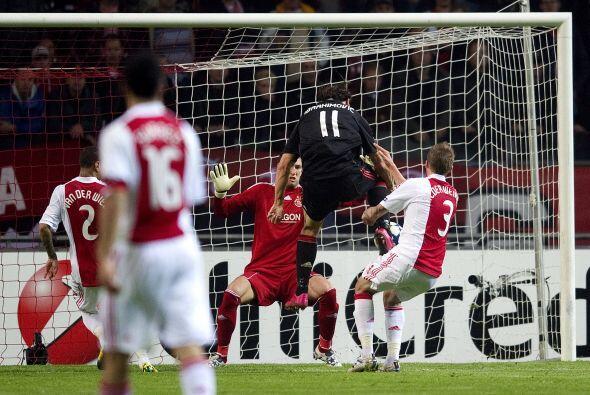 Por su parte, el Ajax y Milan repartieron puntos.