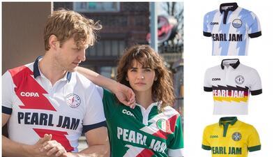 Pearl Jam lanzó sus playeras de fútbol y la del Tri es una de las más hermosas