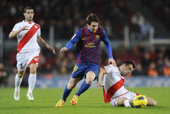 El Barcelona se respuso a la caída sufrida ante el Getafe con una tremen...
