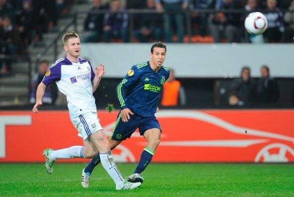 El Ajax visitó la casa del Anderlecht, pero parecía que el cuadro holand...