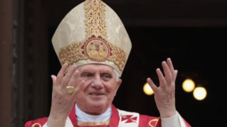 """Durante una homilía en Londres Benedicto XVI habló del """"inmenso sufrimie..."""