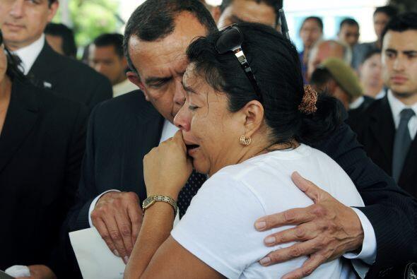 Lobo expresó a los familiares de las víctimas las condolencias y solidar...