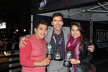 Ricardo Rivadeneira nuestro locutor de 106.5 fue el MC del evento!