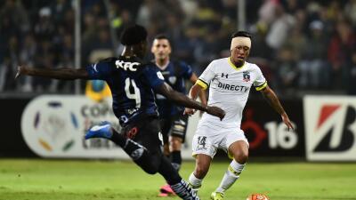 Colo Colo abrió la Libertadores con un empate de visitante.