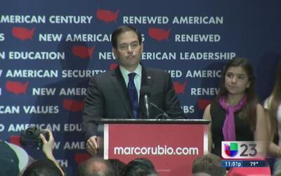 Devastados seguidores de Rubio tras su retiro de la contienda