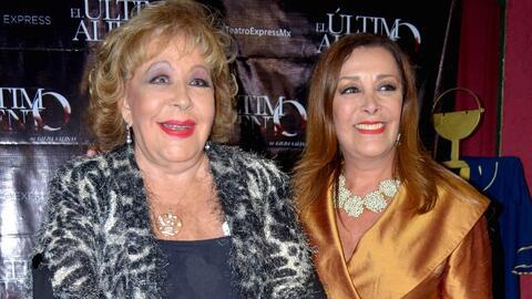 Sylvia Pasquel será quien interprete a su madre Silvia Pinal en la serie...