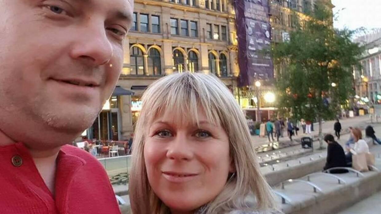 Angelika y Marcin, los padres de dos jóvenes polacas que, según el minis...