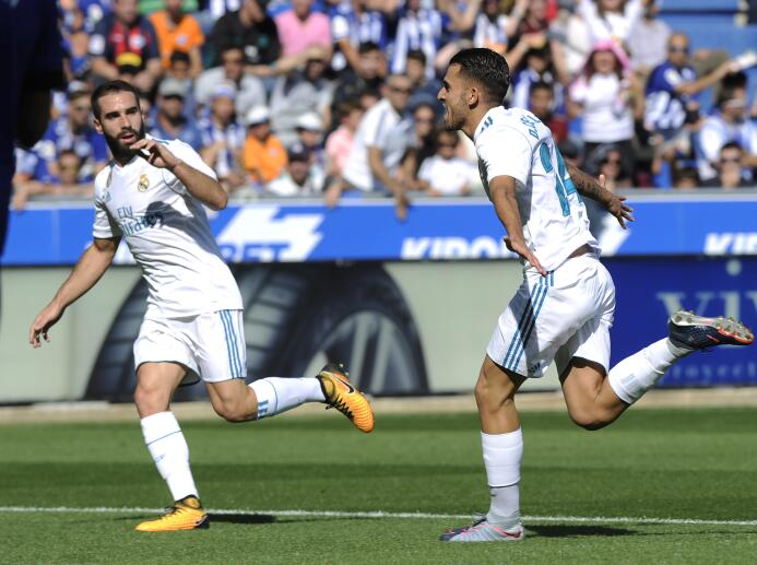 Real Madrid levantó cabeza con triunfo de visitante contra Alavés en Lig...