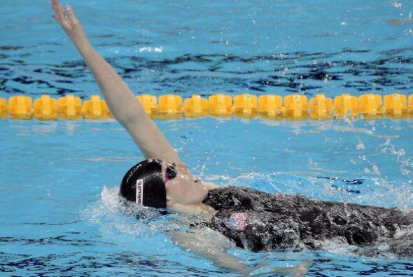 La nadadora de Colorado, nacida el 10 de mayo de 1995, superó en la fina...