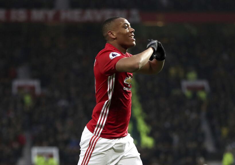 El tiempo de Anthony Martial en el Manchester United podría terminar pro...