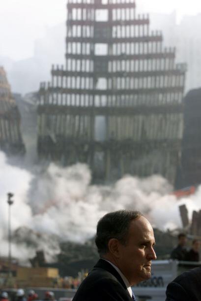 200 FUNERALES- Rudy Giuliani, quien en ese momento se desarrollaba como...
