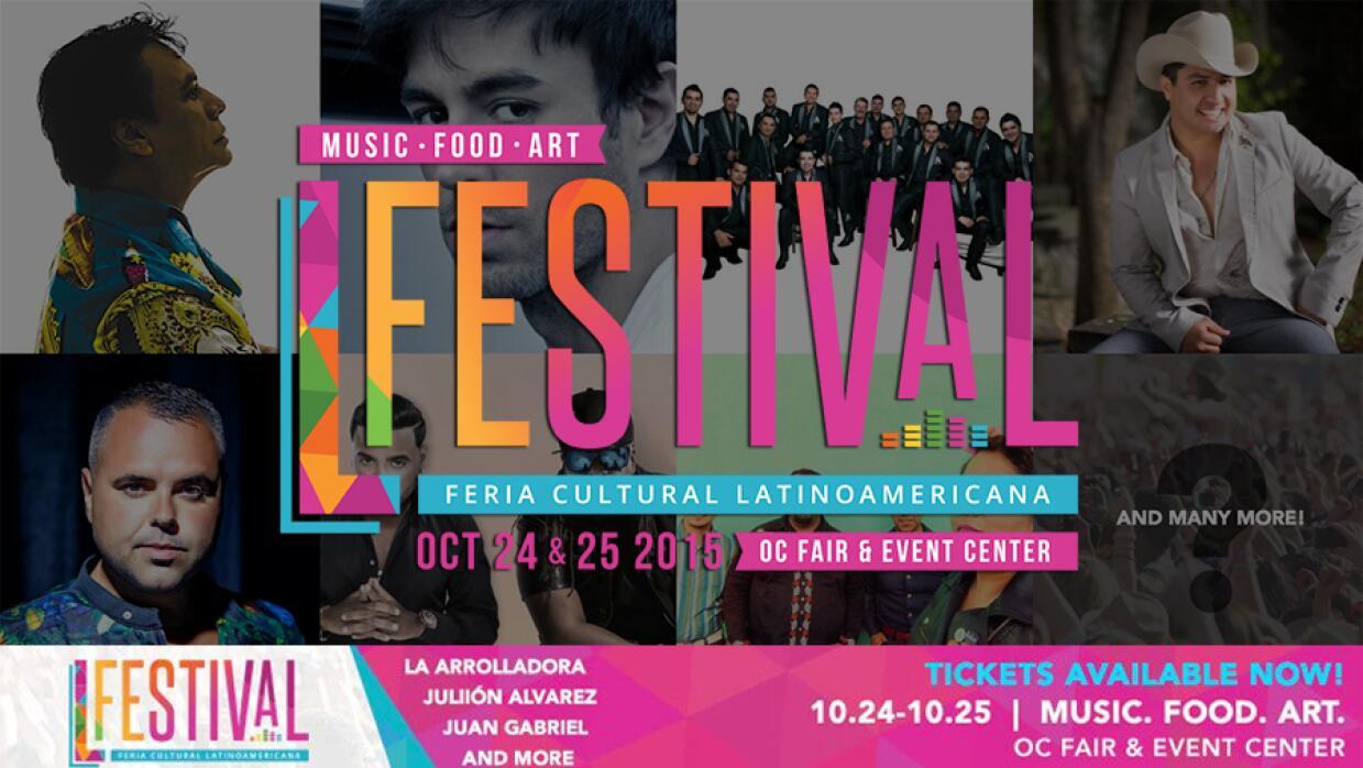 ¡L Festival en el OC Fairgrounds a partir del 24 y el 25 de Octubr...
