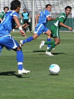 Los dos equipo mostraron gran nivel y el partido fue muy igualado.
