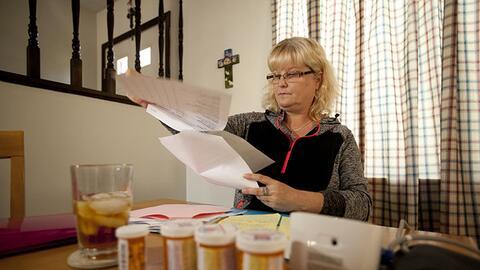 Sherry Herman, de 50 años, de Dayton, Ohio, había estado t...