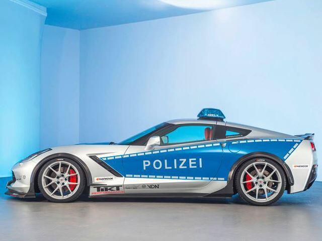 Chevrolet Corvette Policía