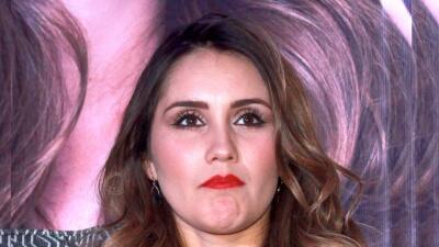 Dulce María dejó claro que confía en la integridad del productor Pedro D...