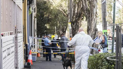 Las autoridades informaron que la operación antiterrorista contin...