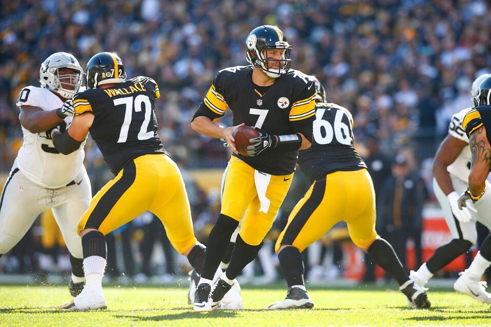 Los Steelers salieron avantes sin Roethlisberger ante los Oakland Raider...