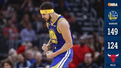 Klay Thompson rompe el récord histórico de triples de la NBA