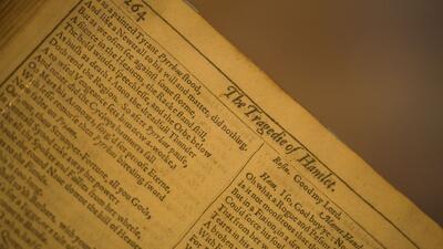Primer folio de William Shakespeare
