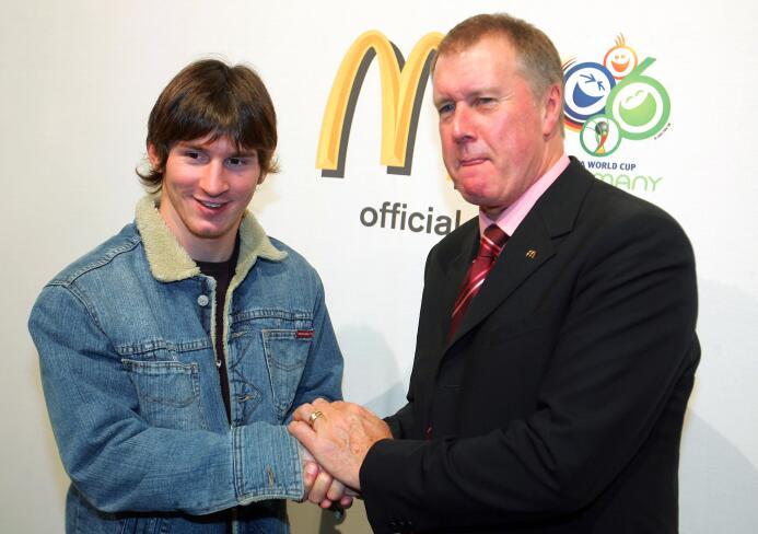 Los cambios de 'look' de Lionel Messi, de promesa hasta superestrella Ad...