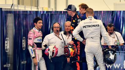 ¡Hay tiro! Max Verstappen agredió a Esteban Ocon al finalizar el GP de Brasil