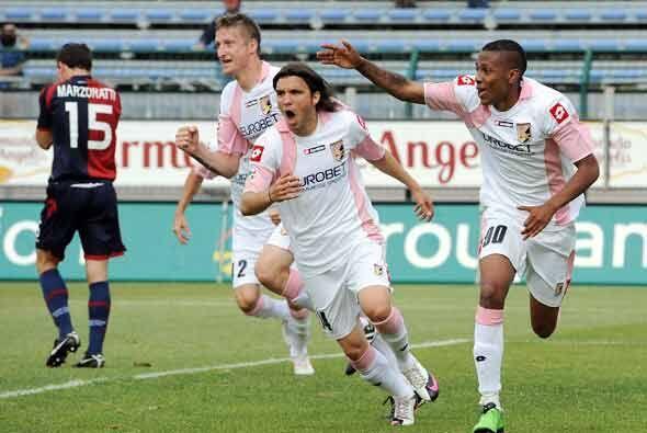 Palermo sacó un punto de su visita a la cancha del Cagliari.