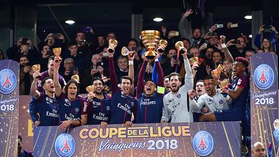 El PSG es campeón de la Ligue 1 de Francia tras aplastar 7-1 al Monaco