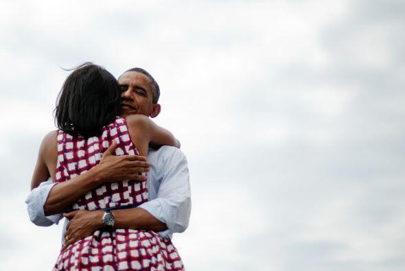 La foto que Barack Obama incluyó en un tuit donde anunciaba que había si...