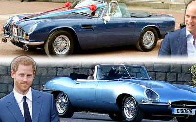 Jaguar E-Type - Aston Martin DB6