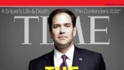 El Senador Marco Rubio (republicano de Florida), en la portada de la rev...