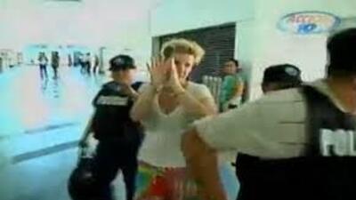 Ana Alliegro Sol es extraditada de Managua a Miami.