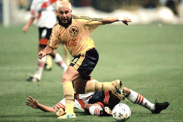 El primer equipo mexicano que enfrentó a River Plate en la Copa Libertad...