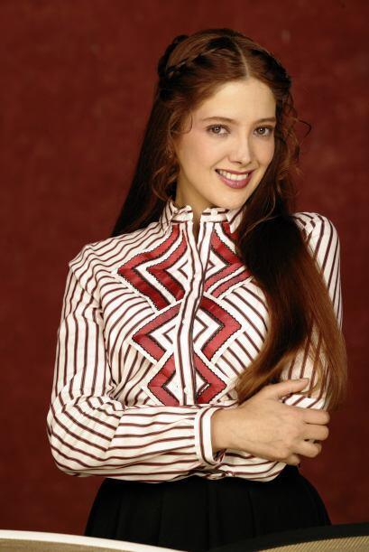 """La última vez que vimos a Adela Noriega en las telenovelas fue en """"Fuego..."""